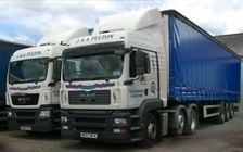haulage contractor, transport, Kilmarnock, UK
